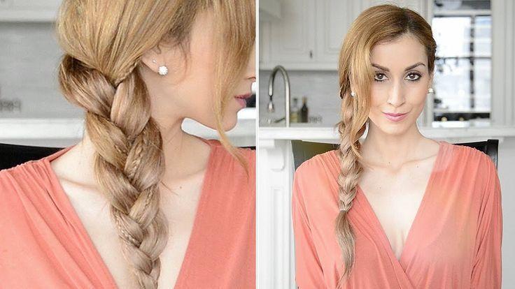 Boho Braid mit Micro Braids - Schnelle und einfache Alltagsfrisur,  #Alltagsfrisur #Boho #Bra...