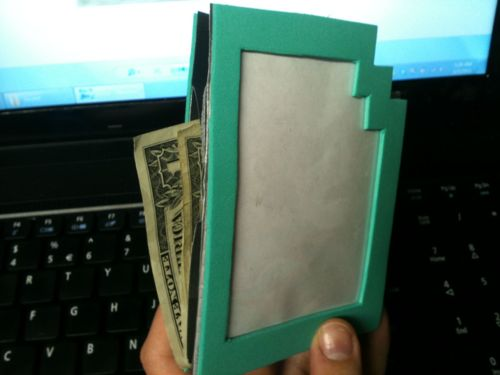 SWEET ARTS AND HELLA CRAFTS, CAPTCHALOGUE CARD DUCT TAPE WALLET