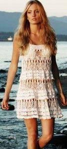 White Dress free crochet pattern http://findanswerhere.com/dresses