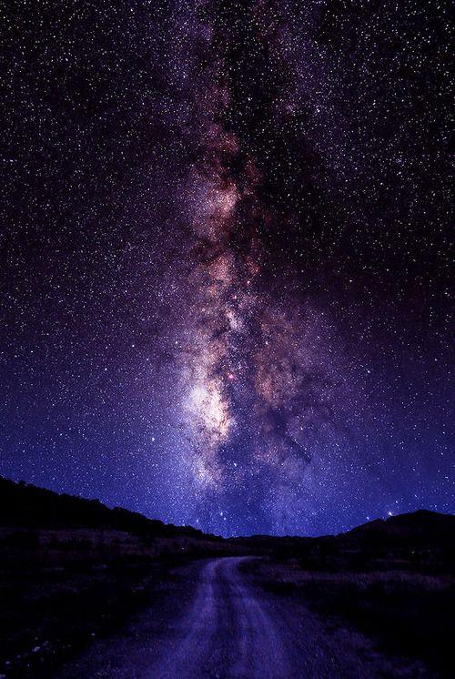 """El camino Láctea, Ft..  Davis, Texas (""""el punto más oscuro en América del Norte"""") (a través 500px / Photo """"The Road Láctea"""", de Larry Landolfi)"""