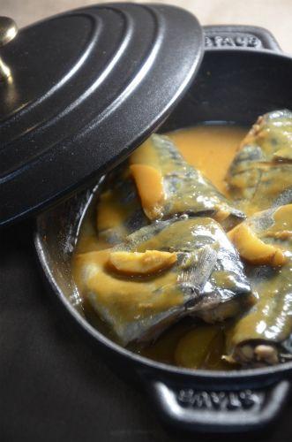 ストウブホットプレートで「鯖の味噌煮」 by ジュンジュンさん ...