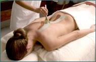 A massage sounds good!