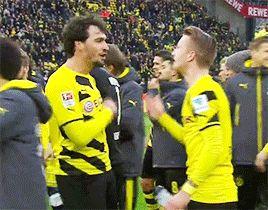Marco Reus and Mats hummels - pretty handsome men are calling