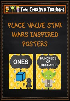 Two+Creative+Teachers+-+Place+Value+Posters+Star+Wars+ThemeThis+product+contains+place+value+posters+up+to+millions.+These+posters+can+be+used+to+highlight+the+names+of+the+number+values+as+well+as+their+order.+Numbers+can+also+be+placed+under+the+appropriate+headings+or+use+these+posters+for+display+purposes.+#placevalue+#classroomdisplays+#twocreativeteachersIf+you+would+like+a+custom+order+please+contact+us+at+twocreativeteachers@gmail.com.
