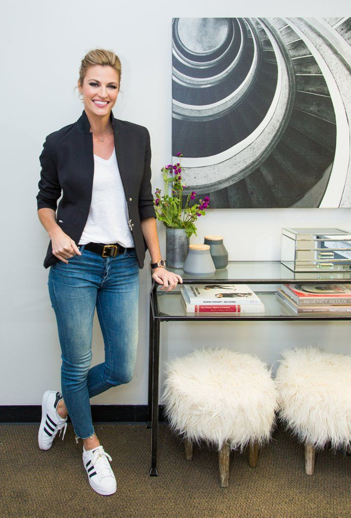 Erin Andrews's Flawless Dressing Room Is the Real Dancing With the Stars Winner