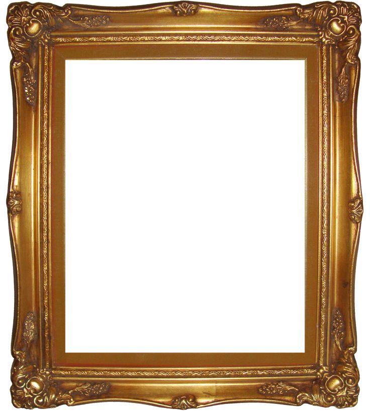 Old Gold Frames, Presenting: Digital Vintage/antique photo frames Printables!