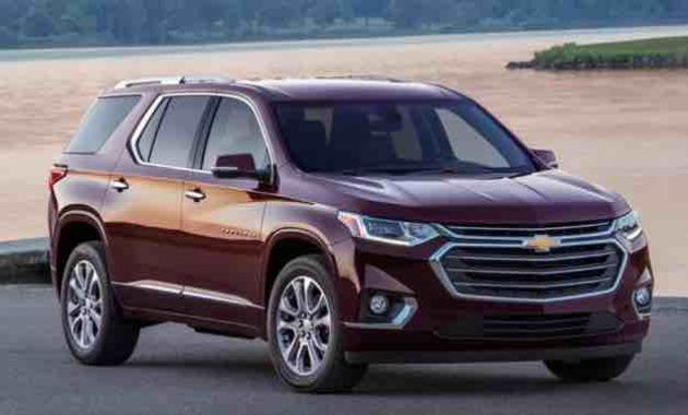 2019 Chevy Traverse Specifications Chevrolet Traverse Chevrolet