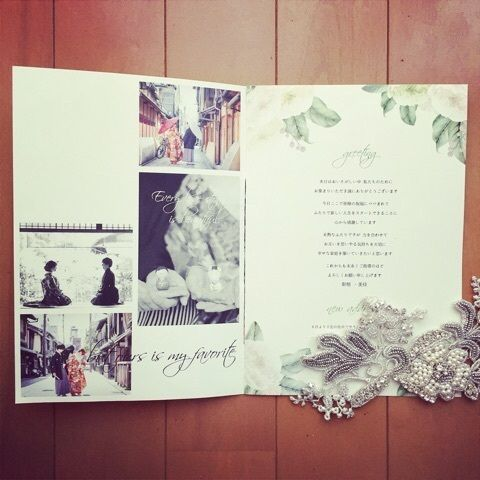 wedding book ☺︎ の画像|*s & m wedding note*