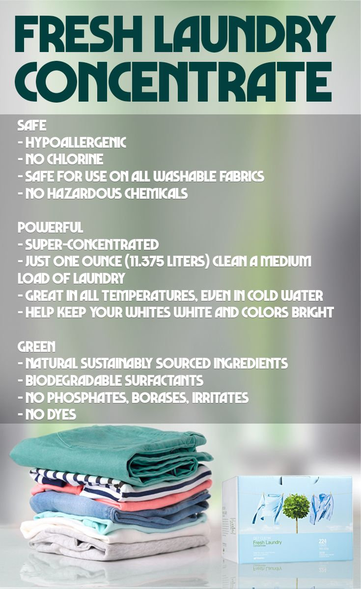 Fresh Laundry Concentrate Shaklee Shakleeproducts