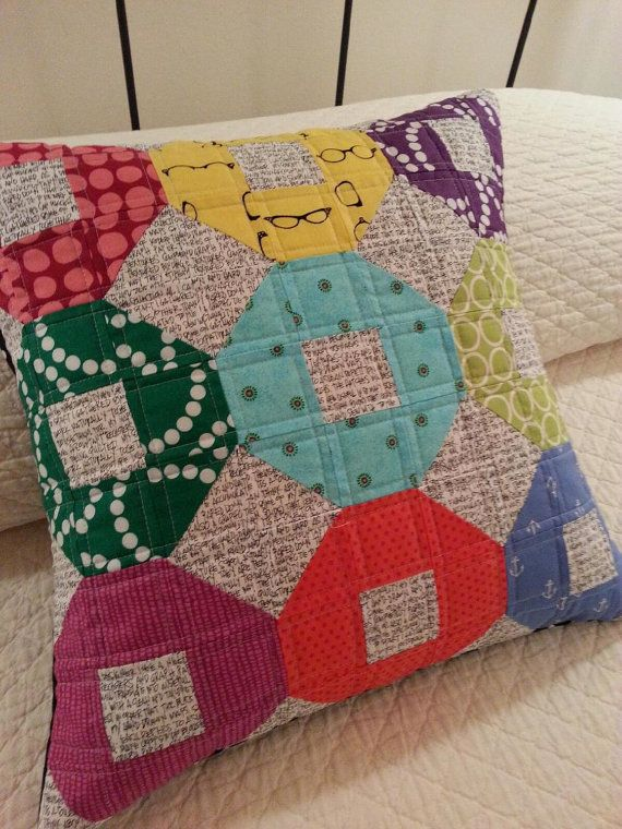 309 best A Quilt - Pillows images on Pinterest | Pillows ... : quilted pillow cases - Adamdwight.com
