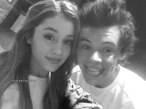 Harry styles and ariana grande = hariana
