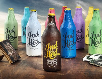 IndHed™ Premium Craft Beer // Identity & Package Design