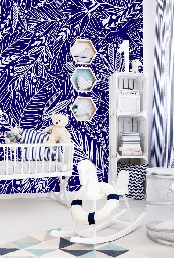 Removable Wallpaper Peel And Stick Wallpaper Self Adhesive Etsy Removable Wallpaper Mural Wallpaper