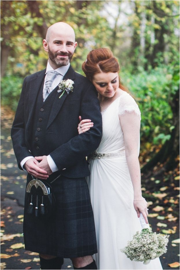 wedding Pollokshields Burgh Hall / Bride and Groom / Chantal Lachance-Gibson photography / The Gibsons / City wedding / natural wedding photographers Scotland / Glasgow wedding