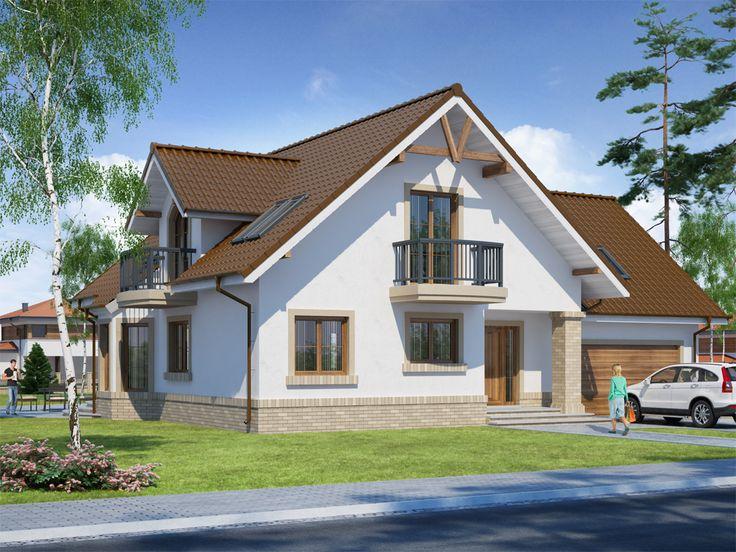 Projekt domu DA Itamon 2 - DOM DS2-34 - gotowy projekt domu