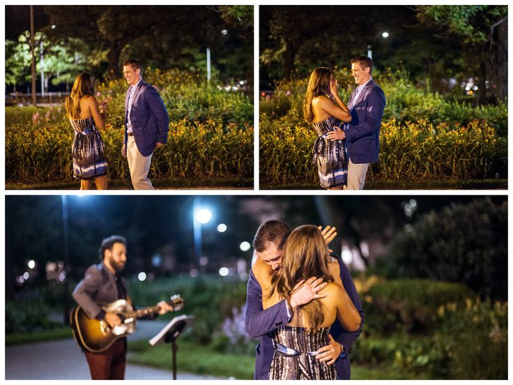 And the question was popped! Matthew and Kristen took our breath away by the amount of love they have for each other. With Visions Event Studio planning and Todd Kessler's guitar, the proposal was perfection.