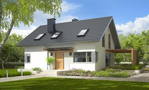 Projekty domov 3   Nízkoenergetické   Stavba domu na kľúč