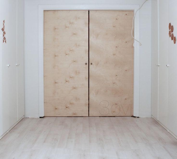 DIY liukuovi / sliding door