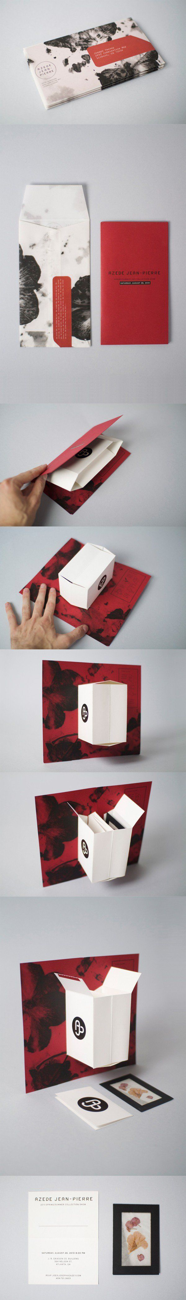Beautiful red and black packaging.