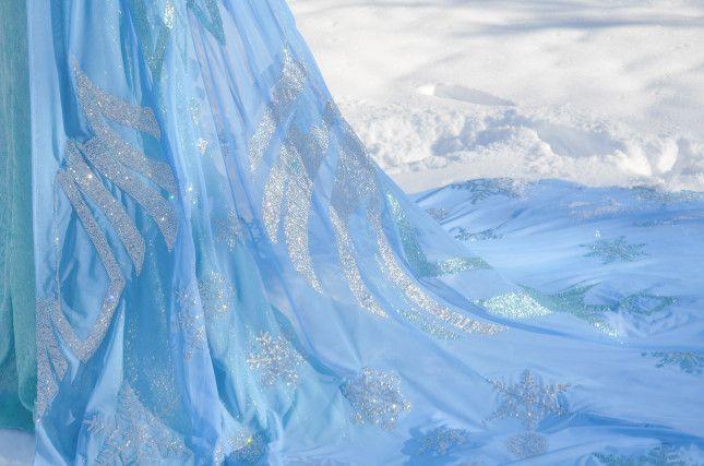 Stupendo tutorial vestito Elsa