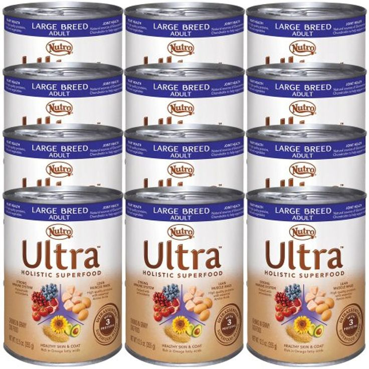 Nutro Ultra Large Breed Canned Dog Food (12x12.5oz) @@ You can visit the image link more details. (This is an affiliate link and I receive a commission for the sales)