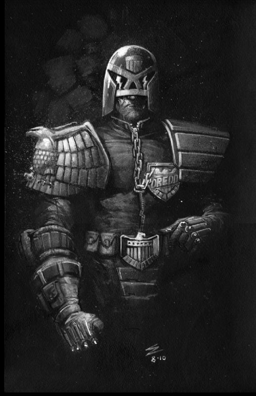JUDGE DREDD ... The Boss man. Collected 2000AD from no.1 and still going