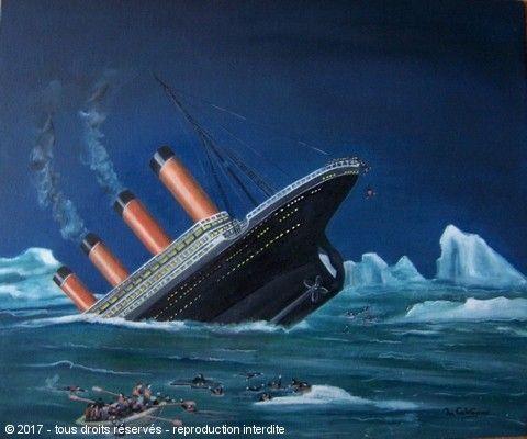 Naufrage du titanic sur pinterest histoire du navire titanic histoire du titanic et navire - Dessin du titanic ...