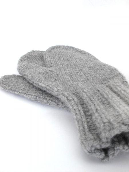 hand knitted mittens handgestrickte Fäustlinge