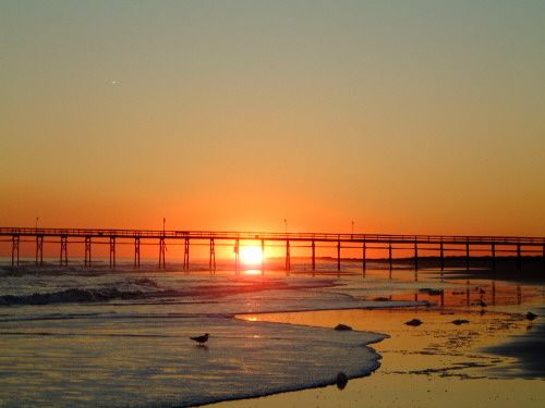 I used to go to Sunset Beach, North Carolina when I was younger. Goal: get back there.