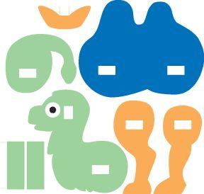 camel craft ~ Free Kids Crafts idea Template