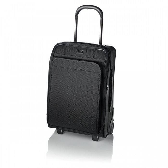Hartmann Ratio Global Carry-On Upright in Black Nylon