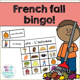Centre ideas for FSL - Primary French Immersion Resources