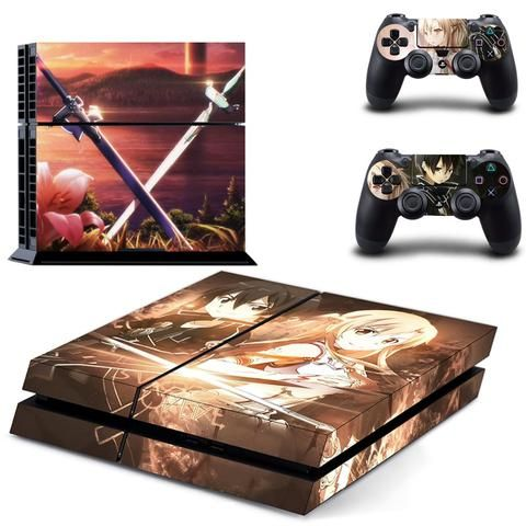 """Sword Art Online Ps4 Skin Not Sold In Stores! - Exclusive Product On Sale + FREE SHIPPING Click the """"Add To Cart"""" button, and get YOURS now! Please allow 7-14 business days for the item to arrives."""