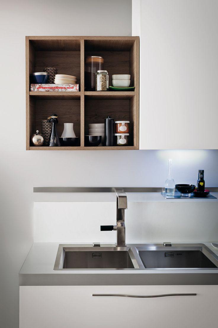 Cucina moderna Gicinque in finitura rovere Denver  #cucina #cucine #kitchen #kitchens #modern #moderna #gicinque #cucinaoslo #oslo www.gicinque.com/...