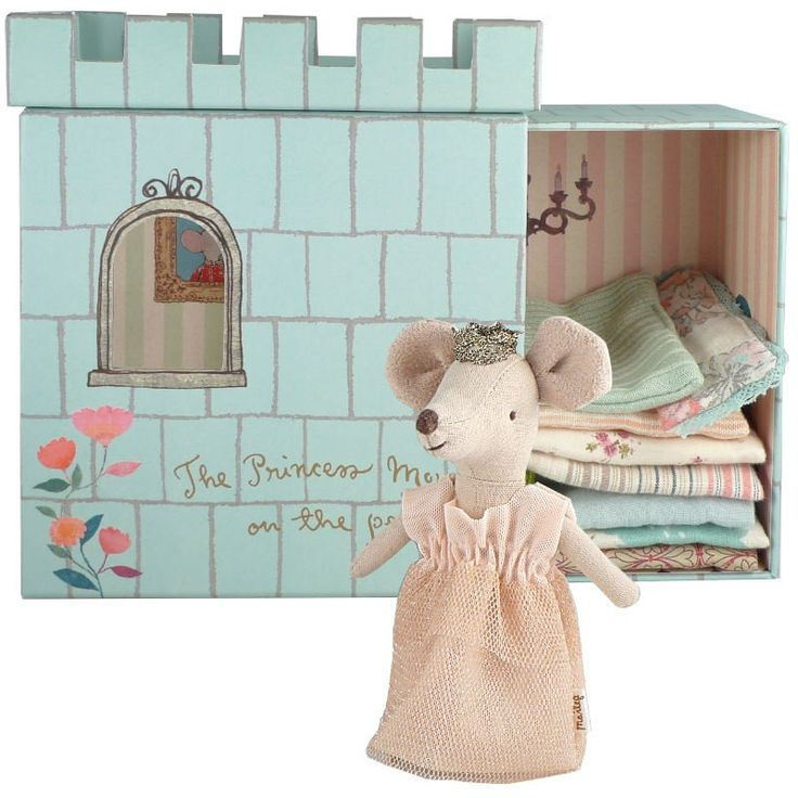 Maileg Princess Mouse and the Pea