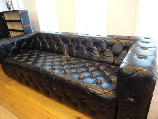Leder Sofa Louisiana 3 Sitzer Schwarz 239x100x73 Cm   Jetzt Kaufen Bei  Dirgo Homelife In Köln · OderLouisianaWikimedia CommonsSofasBlack ...