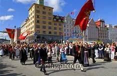 17 mai in Bergen