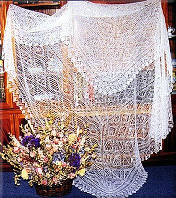 Shetland lace info