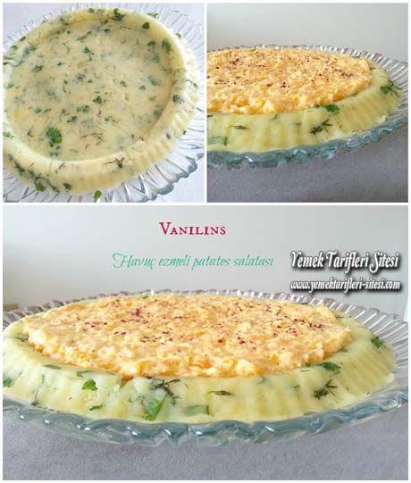 Havuç Ezmeli Patates Salatası Tarifi