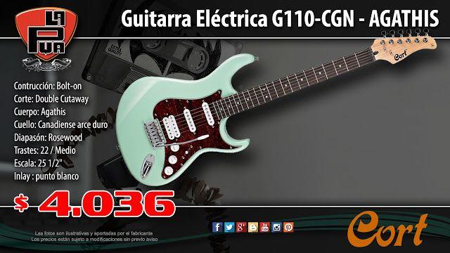 La Púa San Miguel: Guitarra Eléctrica CORT G110-CGN - AGATHIS