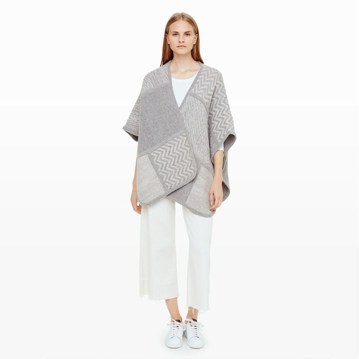 Roenne Cardigan - Wraps and Ponchos Sweaters at Club Monaco
