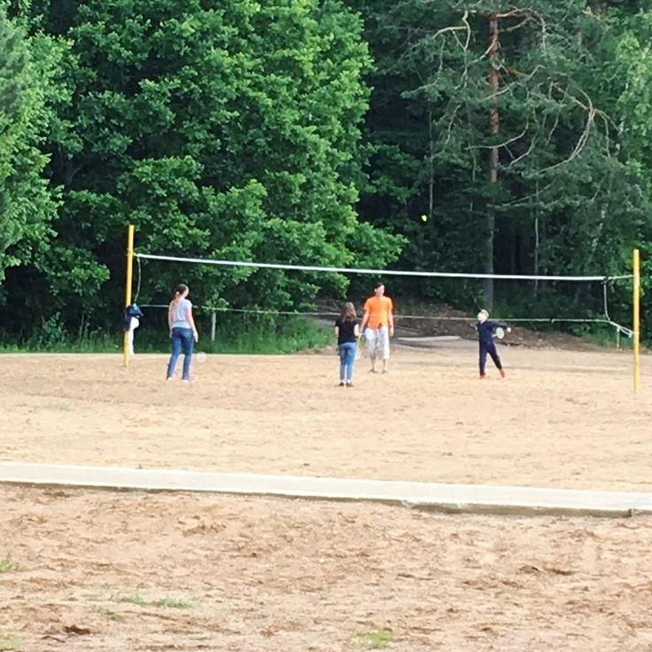 Игры на природе, бадминтон и настолки. #спортдлядетей #nextcamp #нашелетовокругсвета #nextcampвсмоленске #бадминтон