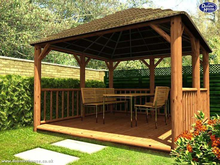 17 best images about ideas for bridgewood on pinterest for Garden decking with gazebo