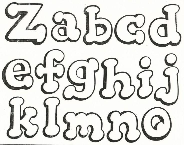 Tos Tipos Letras Bonitas Abecedario 604 X 480 43 Kb Jpeg | Top ...