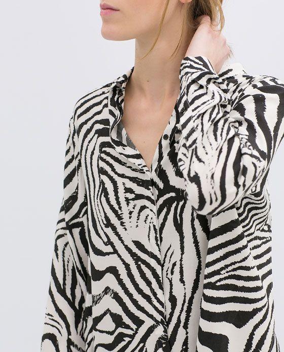 Zara Zebra Blouse 94
