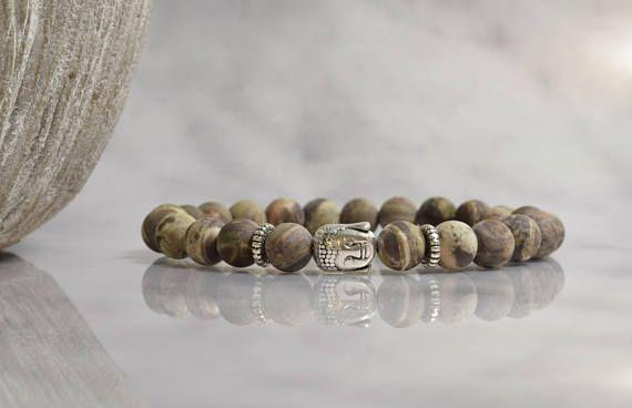 Bekijk dit items in mijn Etsy shop https://www.etsy.com/nl/listing/575511651/buddha-armband-armband-man-half
