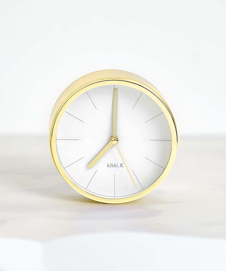 Add this gorgeous Desk Clock to your work space to cut out digital distractions