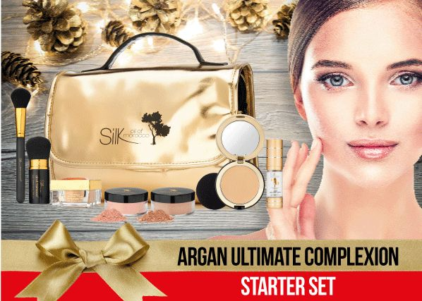 This beautiful starter makeup set gives you the opportunity to experience the natural beauty of Silk!