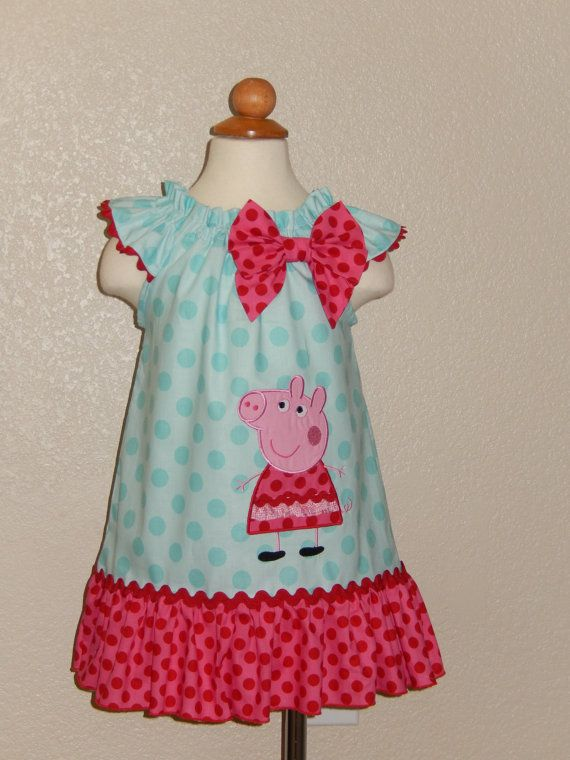 Peppa Pig Flutter Sleeves Dress