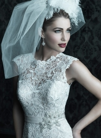 Vintage gorgeous wedding dresses by kelly via behance
